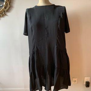 Asos drop waist dress